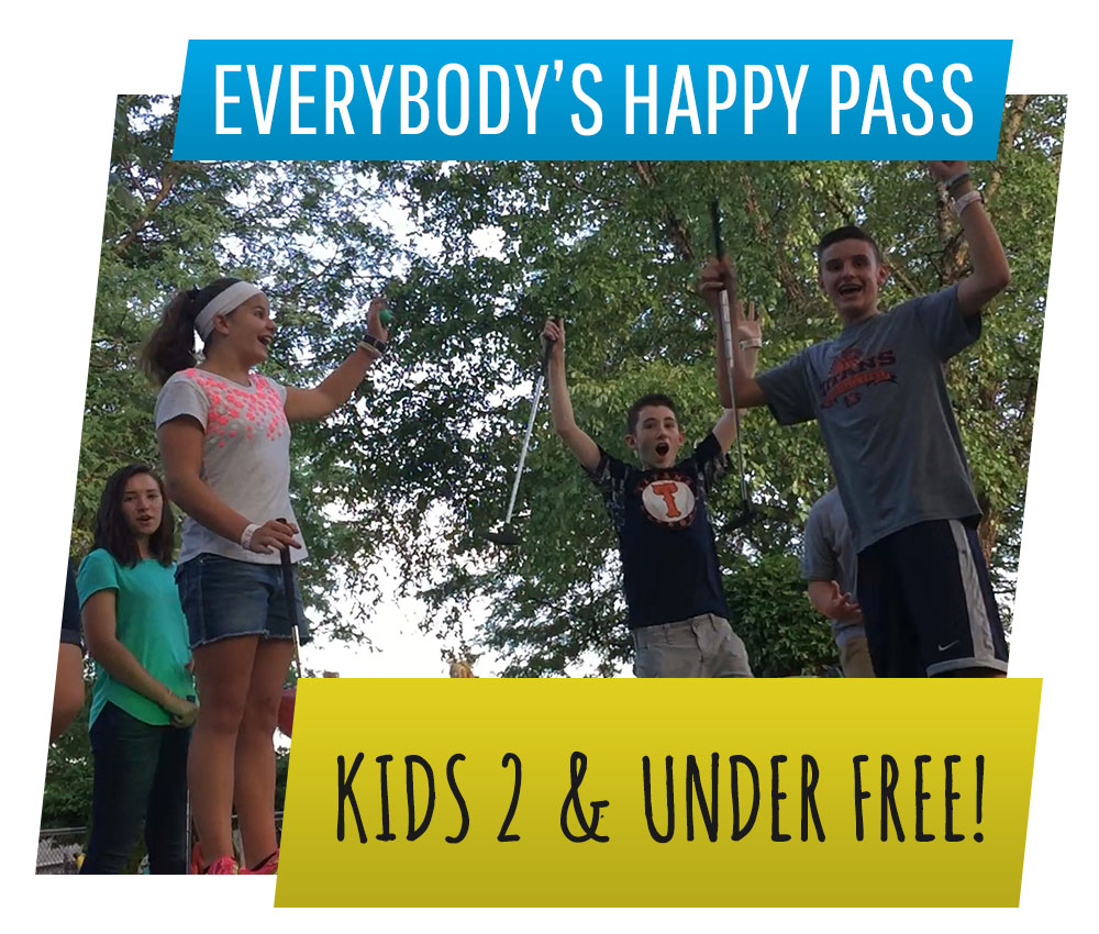 Everybody's Happy Pass | Swings-N-Things Family Fun Park | Olmstead Twp, OH