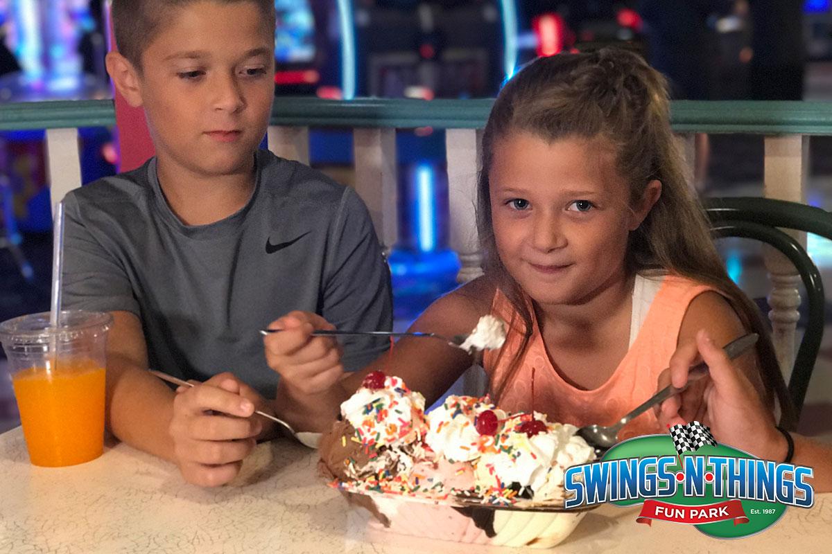 Ice Creamery Dessert | Swings-N-Things Family Fun Park | Olmstead Twp, OH