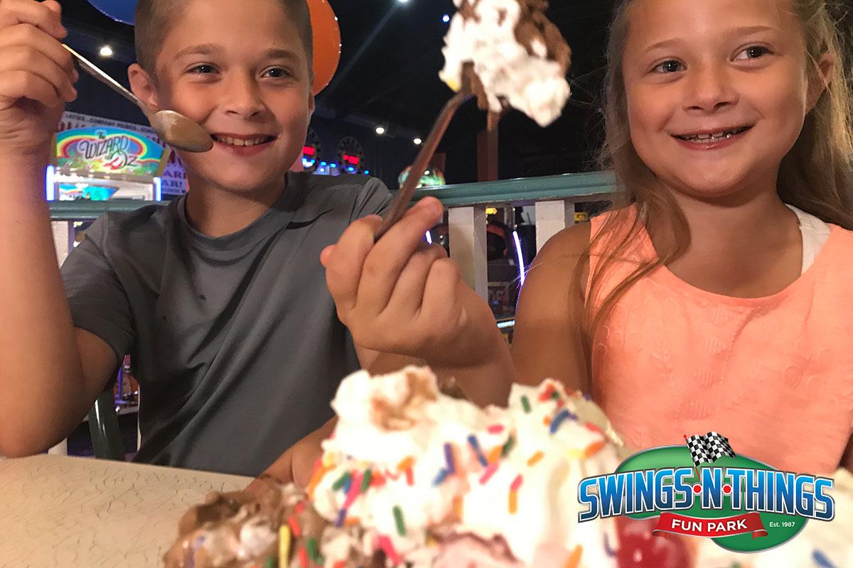 Big Scoops Of Ice Cream | Swings-N-Things Family Fun Park | Olmstead Twp, OH