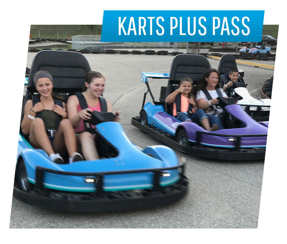 Karts Plus Pass | Swings-N-Things Family Fun Park | Olmstead Twp, OH