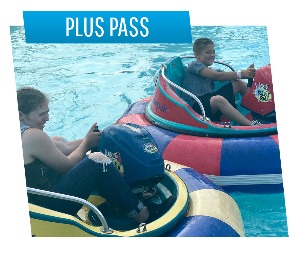 Bumper Boats - Plus Pass | Swings-N-Things Family Fun Park | Olmstead Twp, OH