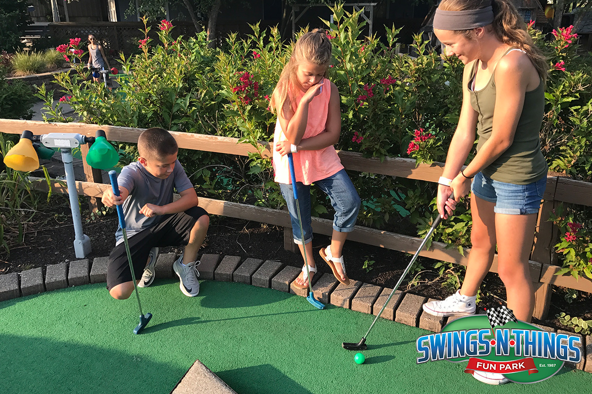 Go Karts Cleveland >> Miniature Golf | Swings-N-Things Family Fun Park ...