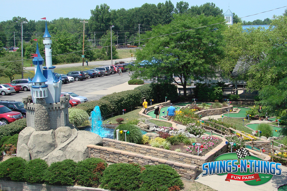 Miniature Golf   Swings-N-Things Family Fun Park   Cleveland, OH