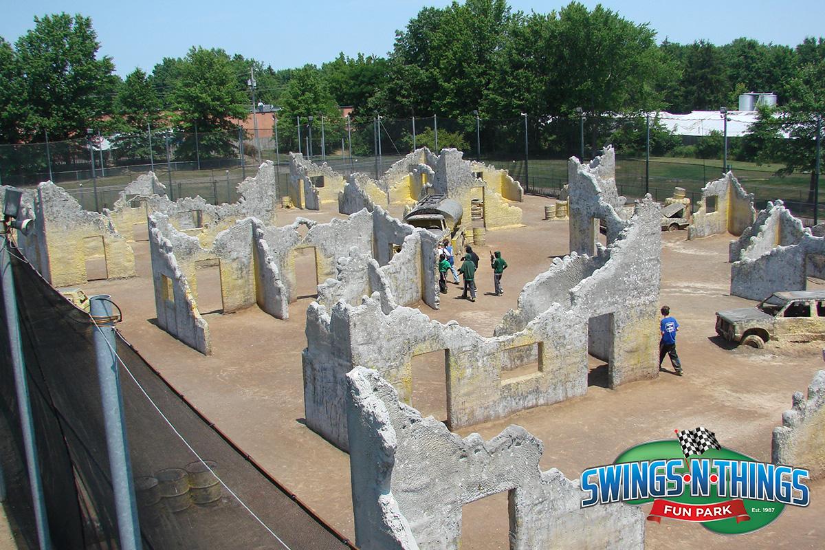 Paintball Scenario Field | Swings-N-Things Family Fun Park | Olmstead Twp, OH