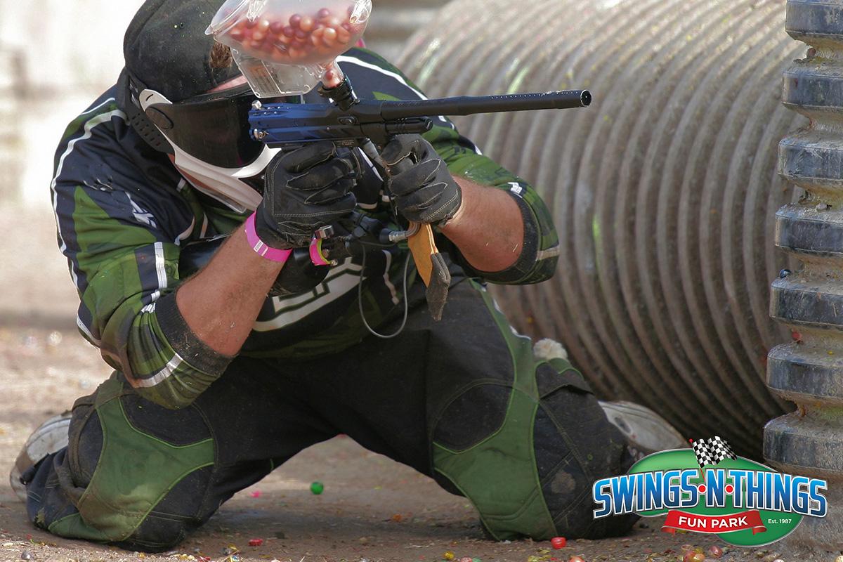 Paintball Shooter | Swings-N-Things Family Fun Park | Olmstead Twp, OH