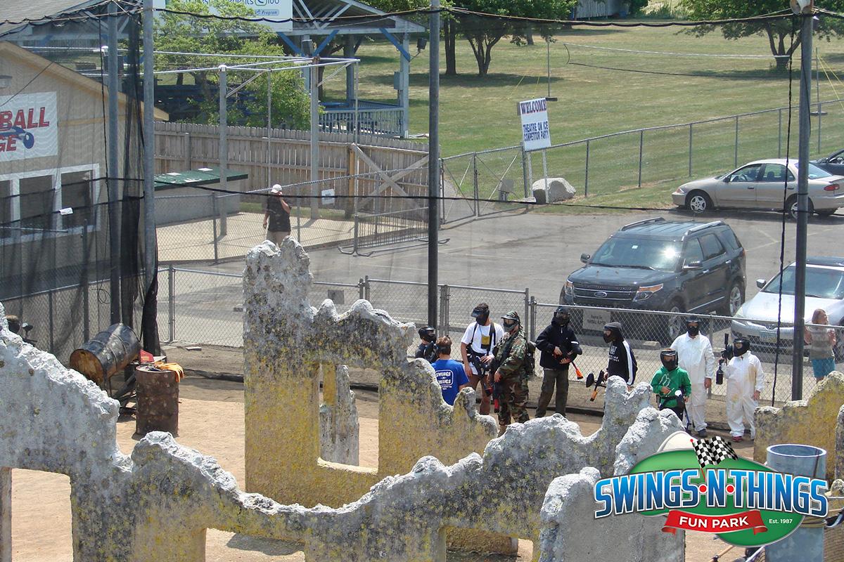 Paintball Game | Swings-N-Things Family Fun Park | Olmstead Twp, OH
