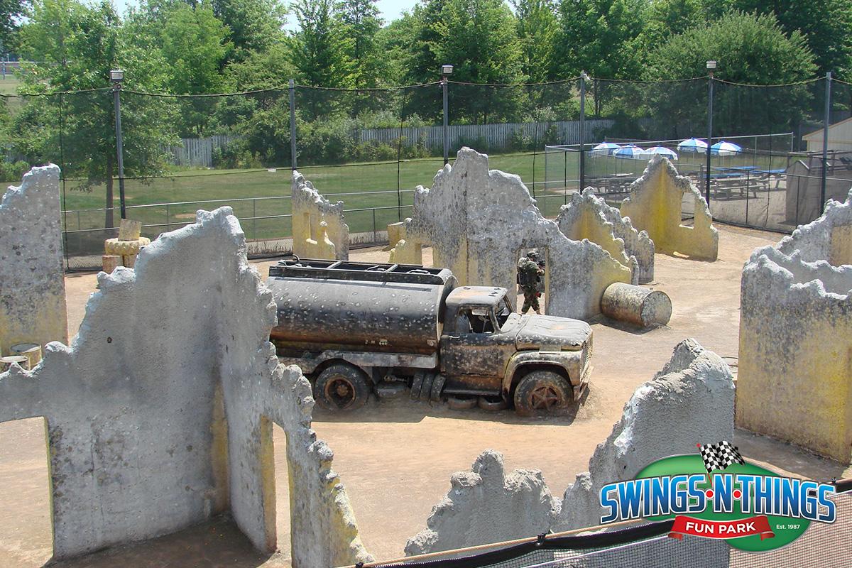 Paintball Field | Swings-N-Things Family Fun Park | Olmstead Twp, OH