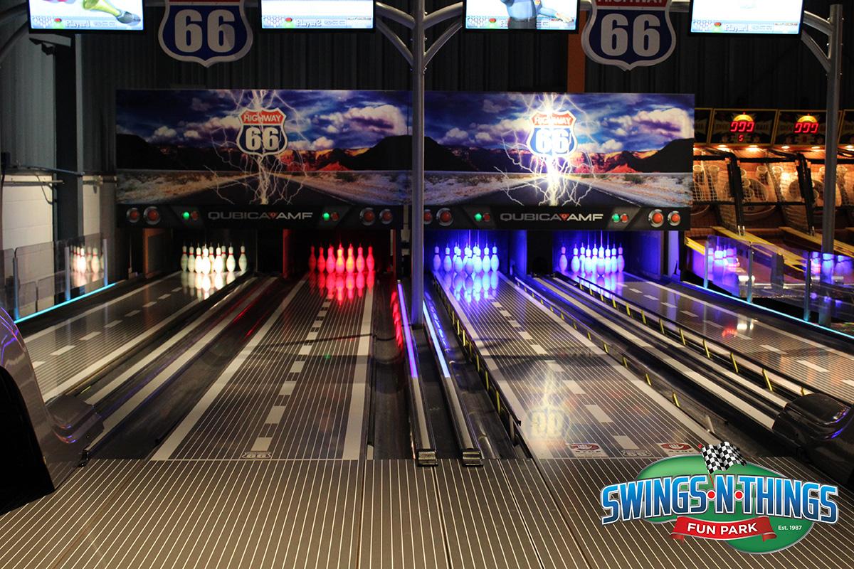 Highway 66 Strike Zone Bowling | Swings-N-Things Family Fun Park | Olmstead Twp, OH
